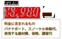 お1人様3,980円