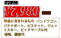 お1人様7,980円